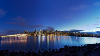 Vancouver british columbia hdr photography reflections evening Wallpaper