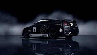 Video games gran turismo 5 ps3 nissan gt-r wallpaper