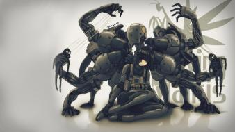 Video games metal gear solid screaming mantis wallpaper