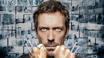 Wolverine syringe hugh laurie gregory house crossovers m.d. Wallpaper