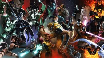 X-men wolverine jean grey mystique magneto xavier cyclops wallpaper