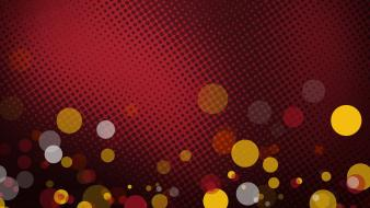 Abstract bokeh design graphics halftone wallpaper