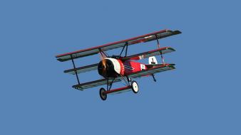 Airplane prop engine triplane fokker dr 1 Wallpaper