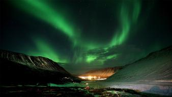 Amazing northern lights wallpaper