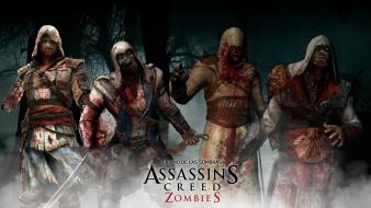 Assassins creed zombies wallpaper