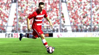 Bayern munich franck ribery fifa game 09 wallpaper