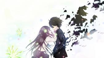 Black hair hyouka chitanda eru oreki houtarou wallpaper