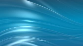 Blue waves fluid swirls lines wallpaper