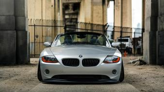 Bmw z4 coupe slammed cars wallpaper