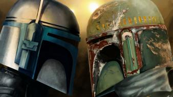 Boba fett artwork jango wallpaper