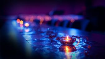 Candle light photography wallpaper