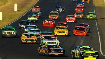 Cars engines muscle wheels racing classic wallpaper