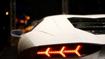 Cars lamborghini vehicles taillights wallpaper