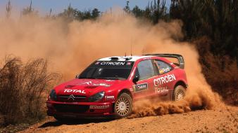 Cars races gravel citroen xsara wrc car wallpaper