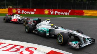 Cars sports formula one mercedes-benz Wallpaper