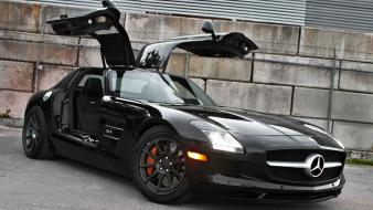 Cars tuning mercedes benz sls amg wallpaper