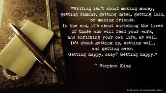 Citation stephen king books inspirational motivational wallpaper