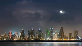 Cityscapes san diego cities wallpaper