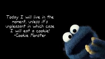Cookies cookie monster sesame street wallpaper