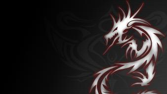 Cool dragon tribal wallpaper