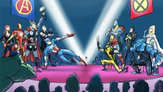 Cyclops steve rogers clint barton avengers competition wallpaper