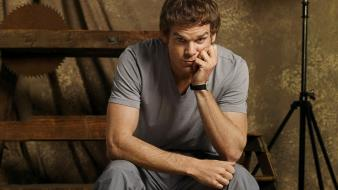 Dexter morgan michael c. hall serial killer wallpaper