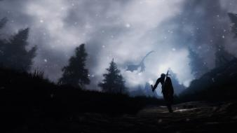 Elder scrolls v: skyrim dead end thrills wallpaper