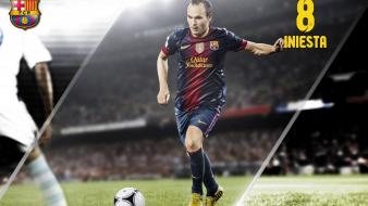 Fc barcelona iniesta football teams sports wallpaper