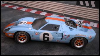Ford gt40 gulf cars engines wallpaper
