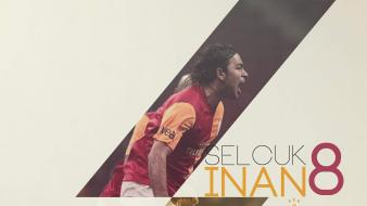 Galatasaray selcuk inan soccer white background wallpaper