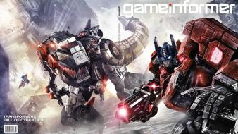 Game art transformers fall of cybertron war for wallpaper