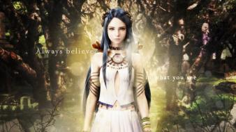Games trees long hair final fantasy xiii wallpaper