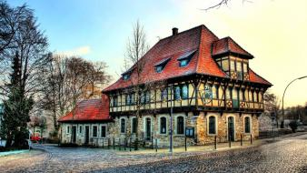 Germany buildings house wallpaper