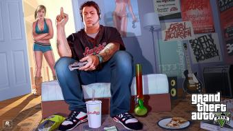 Grand theft auto 5 rockstar games jimmy wallpaper