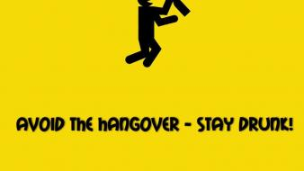Hangover drunk drinks avoid wallpaper