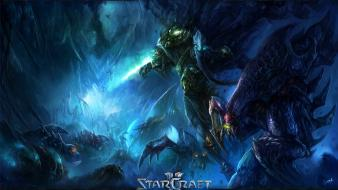 Hydralisk starcraft ii zeratul zerg artwork Wallpaper