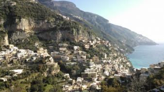 Italy panorama amalfi coast wallpaper