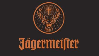 Jägermeister alcohol deer liquor wallpaper