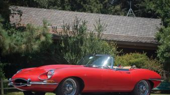 Jaguar series roadster e-type 1968 wallpaper