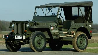 Jeep 1942 willys mb jeep, wallpaper