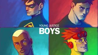 Martian kid flash bromance aqualad young justice wallpaper
