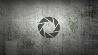 Minimalistic lonely aperture laboratories Wallpaper