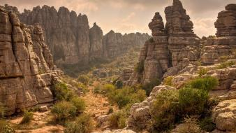 Mountains clouds landscapes nature desert rock formations wallpaper