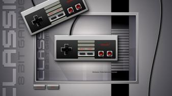 Nintendo video games oldschool gamepad controllers nes wallpaper