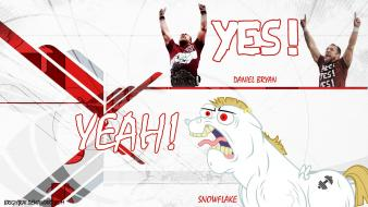 Pony: friendship is magic snowflake daniel bryan wallpaper