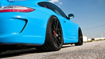 Porsche cars low-angle shot wallpaper