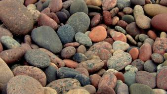 Rocks stones pebbles wallpaper