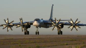 Russian air force soviet tu-95 bear tupolev wallpaper