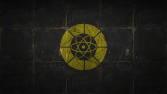 Science minimalistic lonely aperture laboratories wallpaper