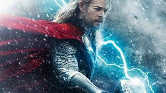 Thor chris hemsworth thor: the dark world wallpaper